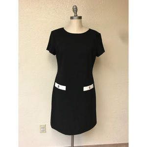 Tommy Hilfiger Black and White Dress